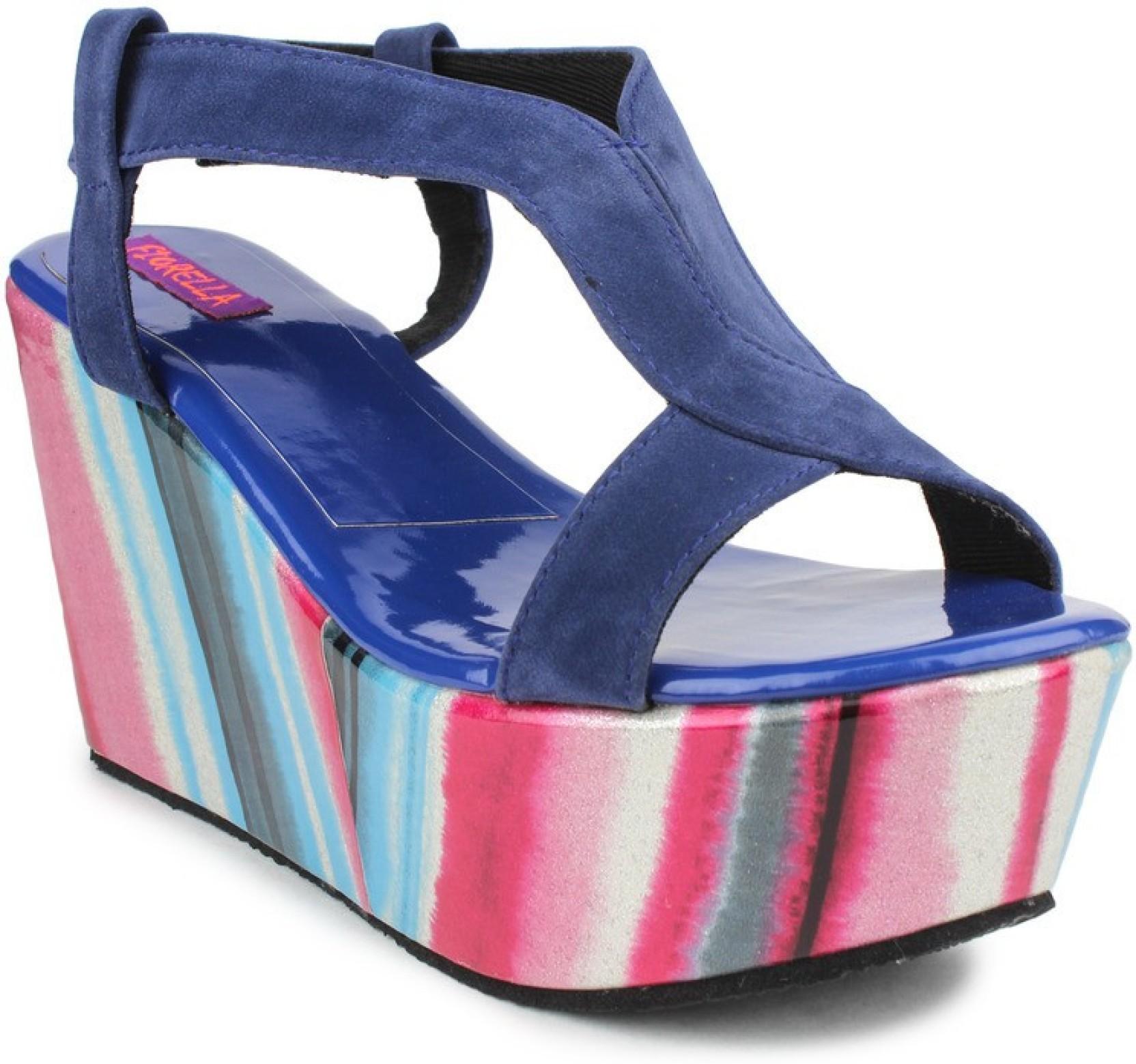 480764a00e1 Fiorella Women Blue Heels - Buy Blue Color Fiorella Women Blue Heels ...
