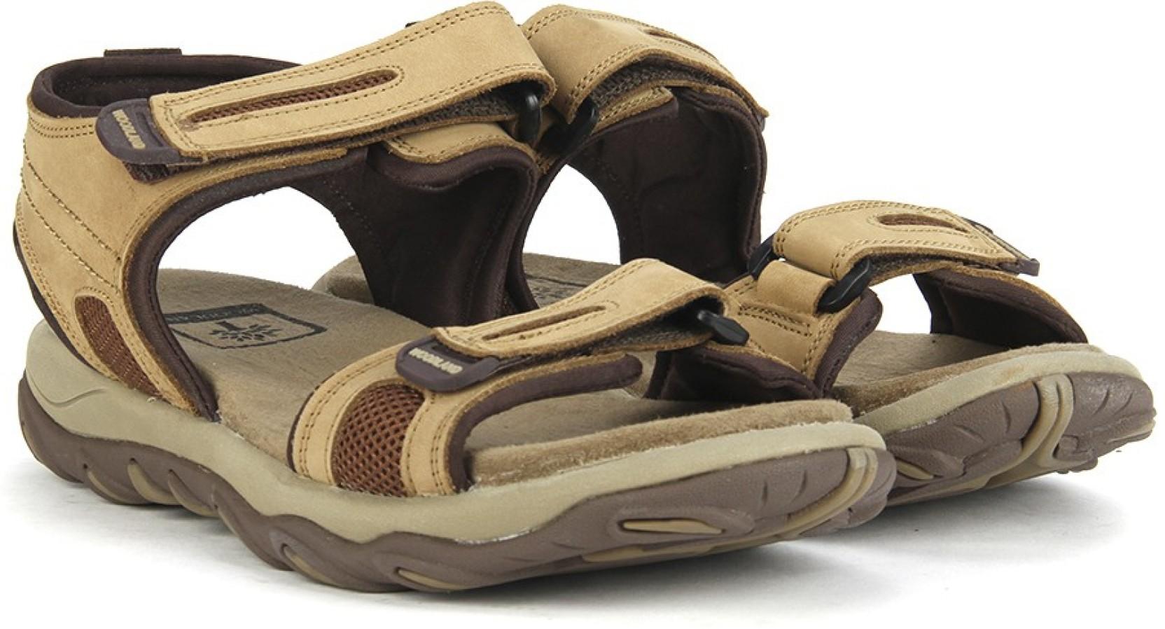 Woodland Men CAMEL Sports Sandals - Buy CAMEL Color ...