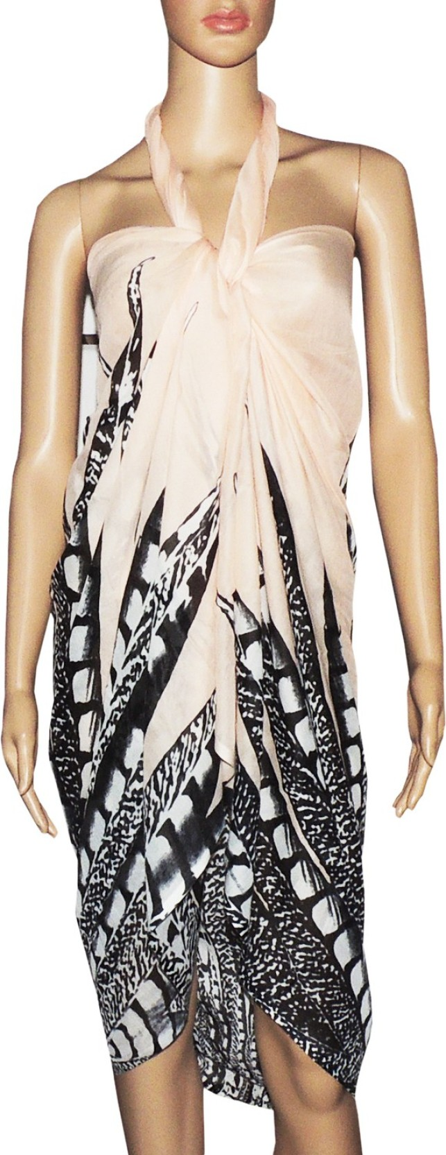 db40223f15 Indian Fashion Guru Printed Women's Sarong - Buy Multi Indian ...