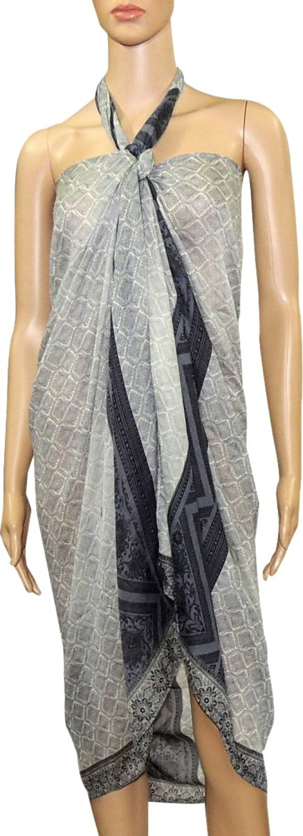c6f498ffbf Indian Fashion Guru Printed Women's Sarong - Buy Multicolor Indian ...