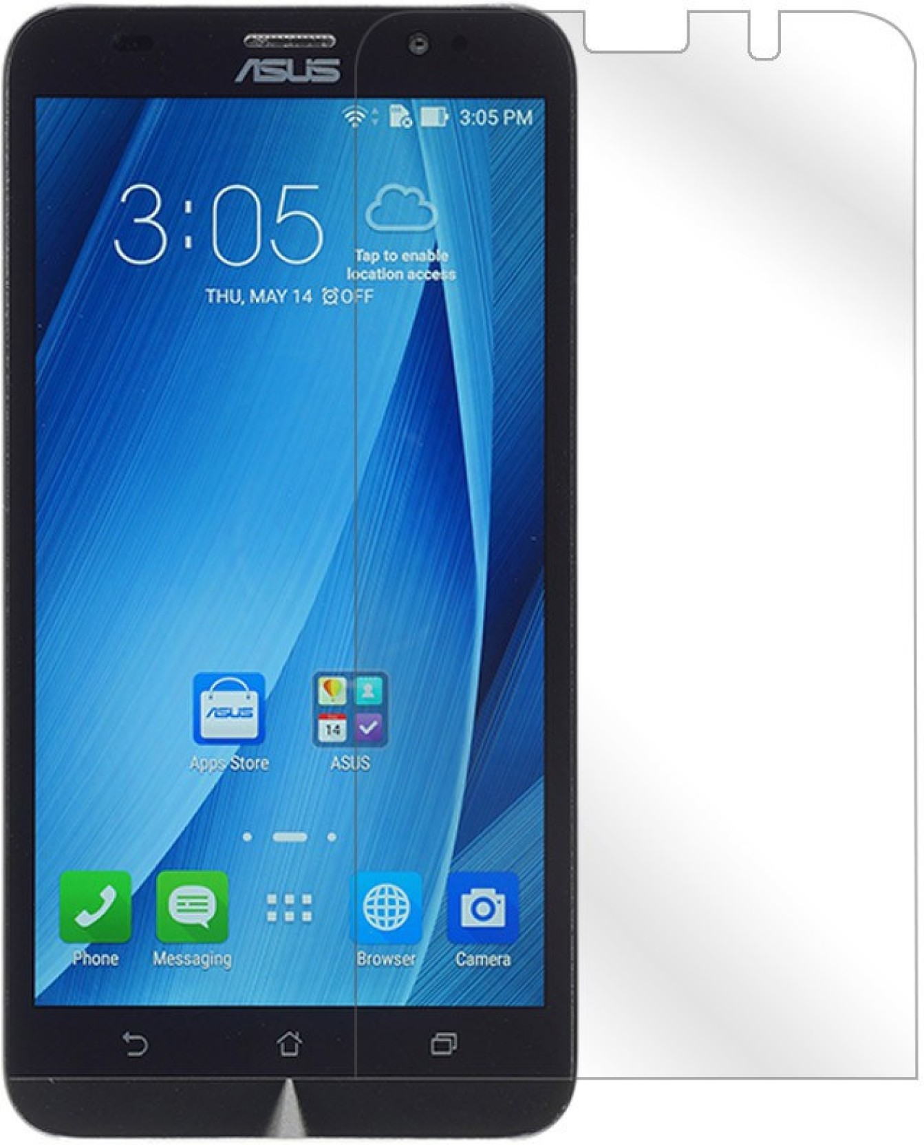 Skintice Tempered Glass Guard for Asus Zenfone 2 Deluxe ZE551ML