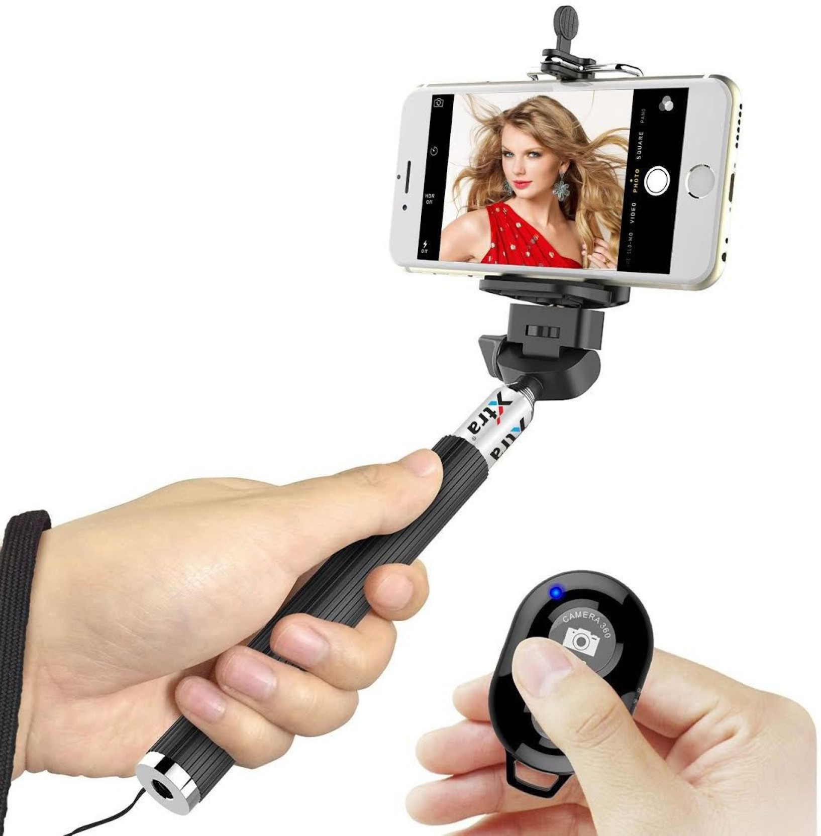 xtra bluetooth selfie stick price in india buy xtra bluetooth selfie stick online at. Black Bedroom Furniture Sets. Home Design Ideas