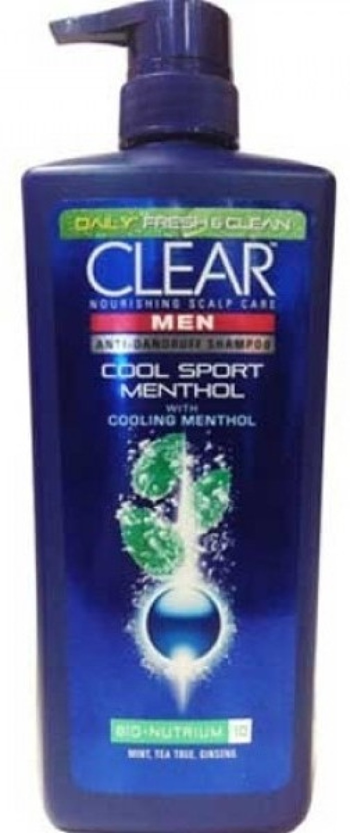 Clear Men Cool Sport Menthol Anti Dandruff Nourishing Shampoo New Complete Soft Care 170ml Share