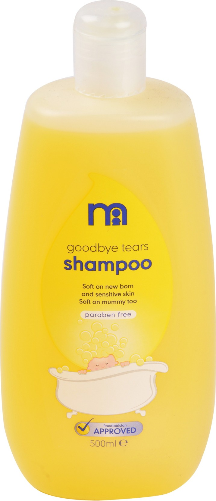 Mothercare Good Bye Tears Baby Shampoo 500ml 0m Price Buy 2 Get 20 Chicco Moments Bath Foam Soft Cup Share