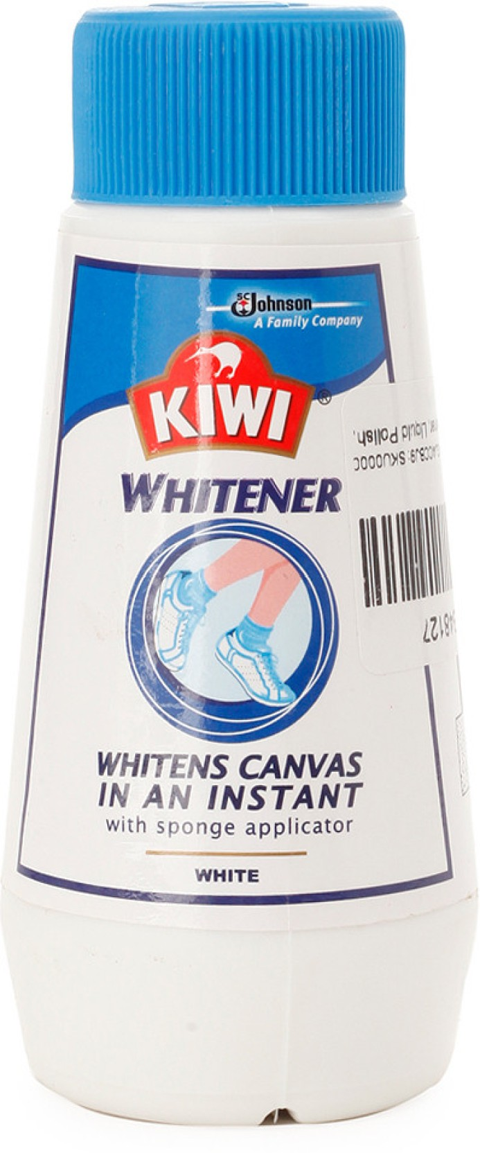 White Canvas Shoe Polish
