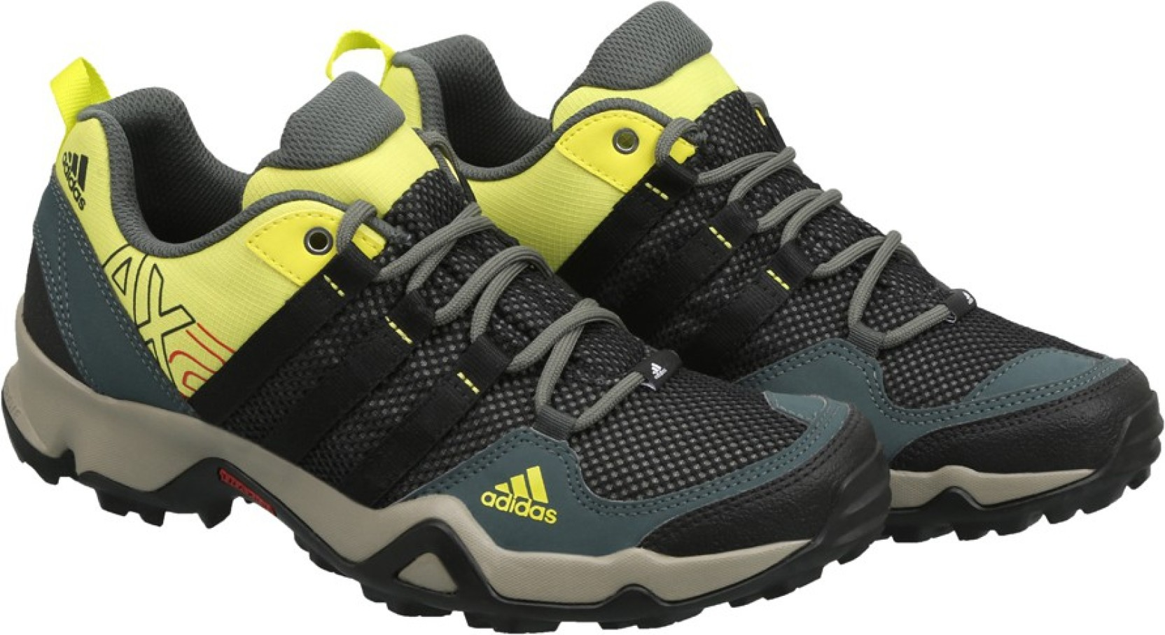 Adidas AX2 Outdoor Shoes - Buy Vtiivy/c. Black/shosli Color Adidas AX2 Outdoor Shoes Online At ...