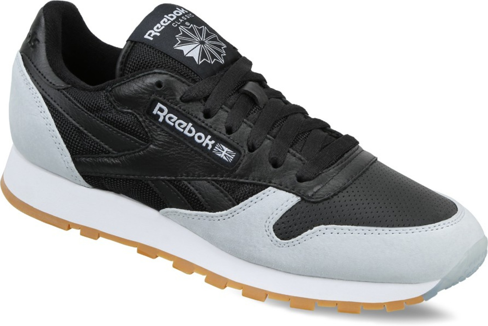 f715c00e2f8 REEBOK CL LEATHER SPP Running Shoes For Men - Buy BLACK CLOUD GREY ...