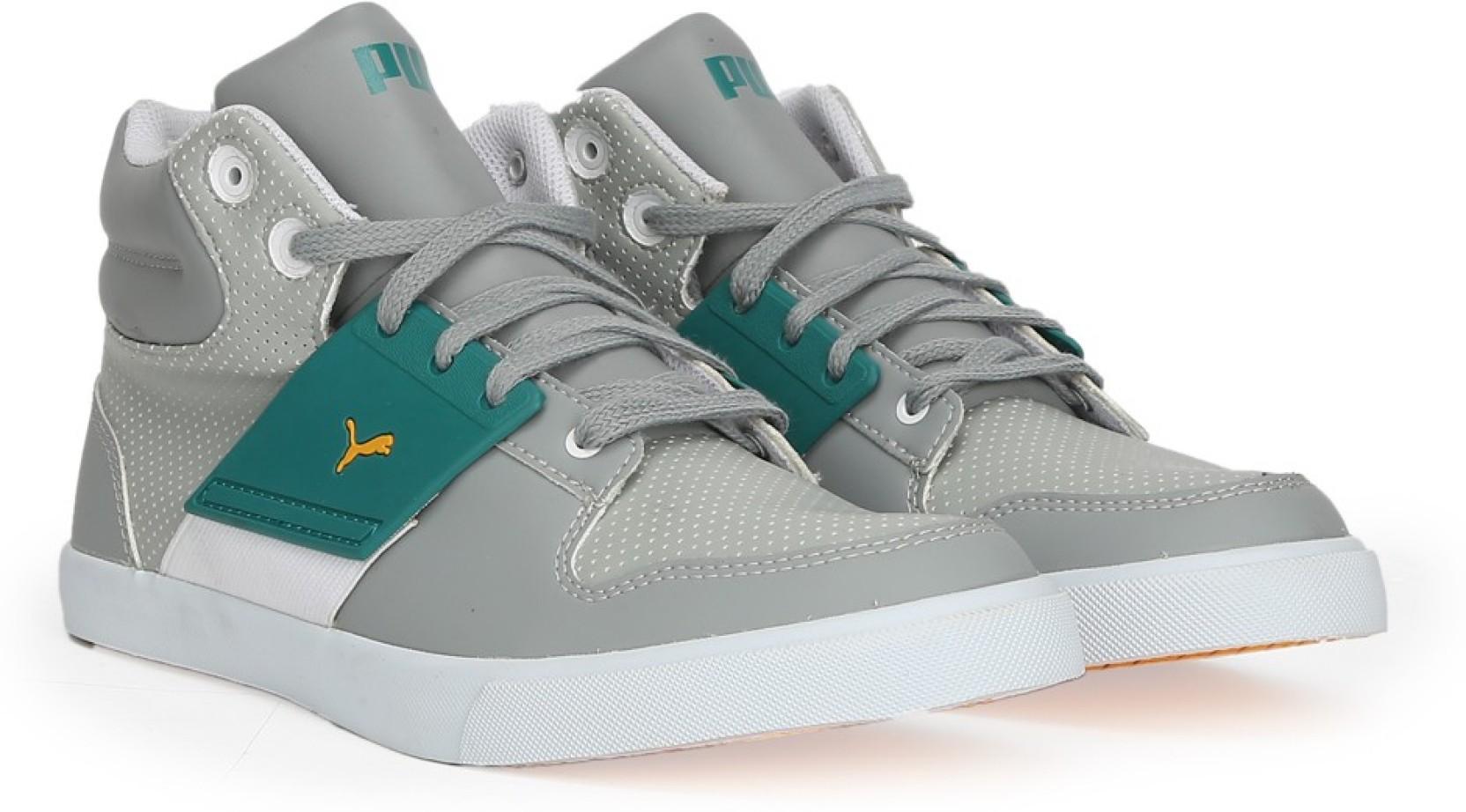 be371be4ddb141 Puma El Ace 2 PN II DP Mid Ankle Sneakers For Men - Buy limestone ...