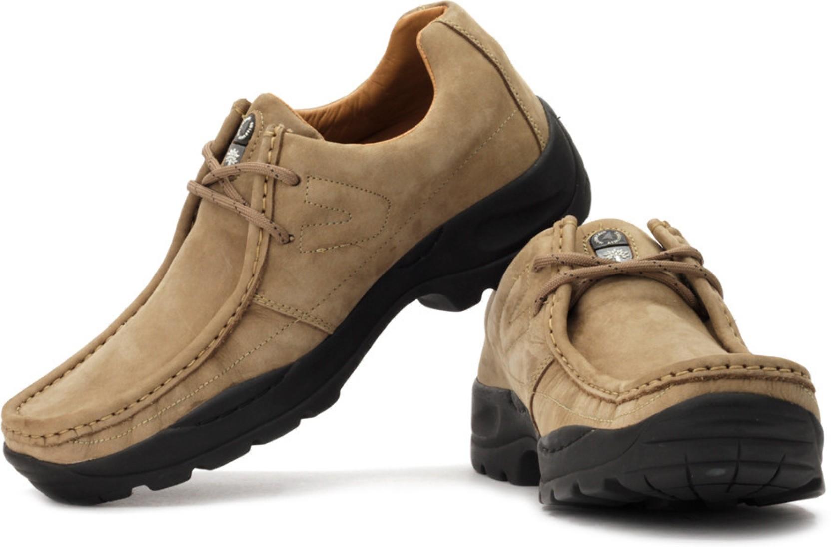 Woodland Outdoors Shoes - Buy Khaki Color Woodland ...