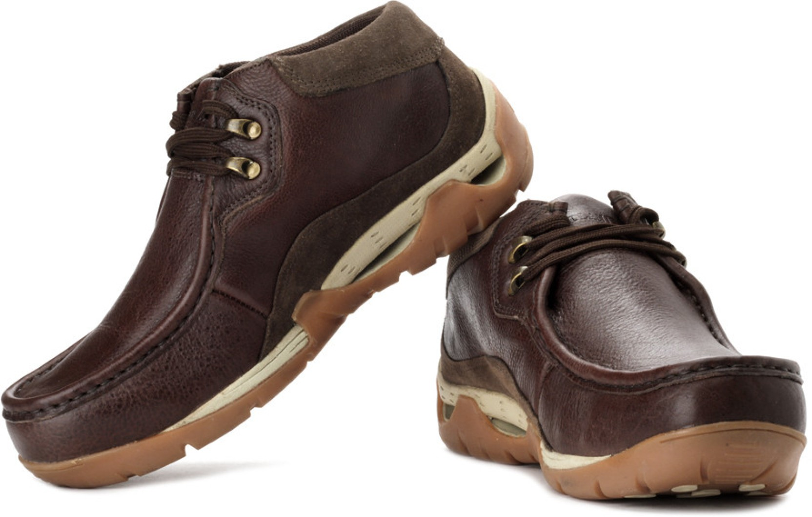 Woodland Outdoors Shoes - Buy Dbrown Color Woodland ...