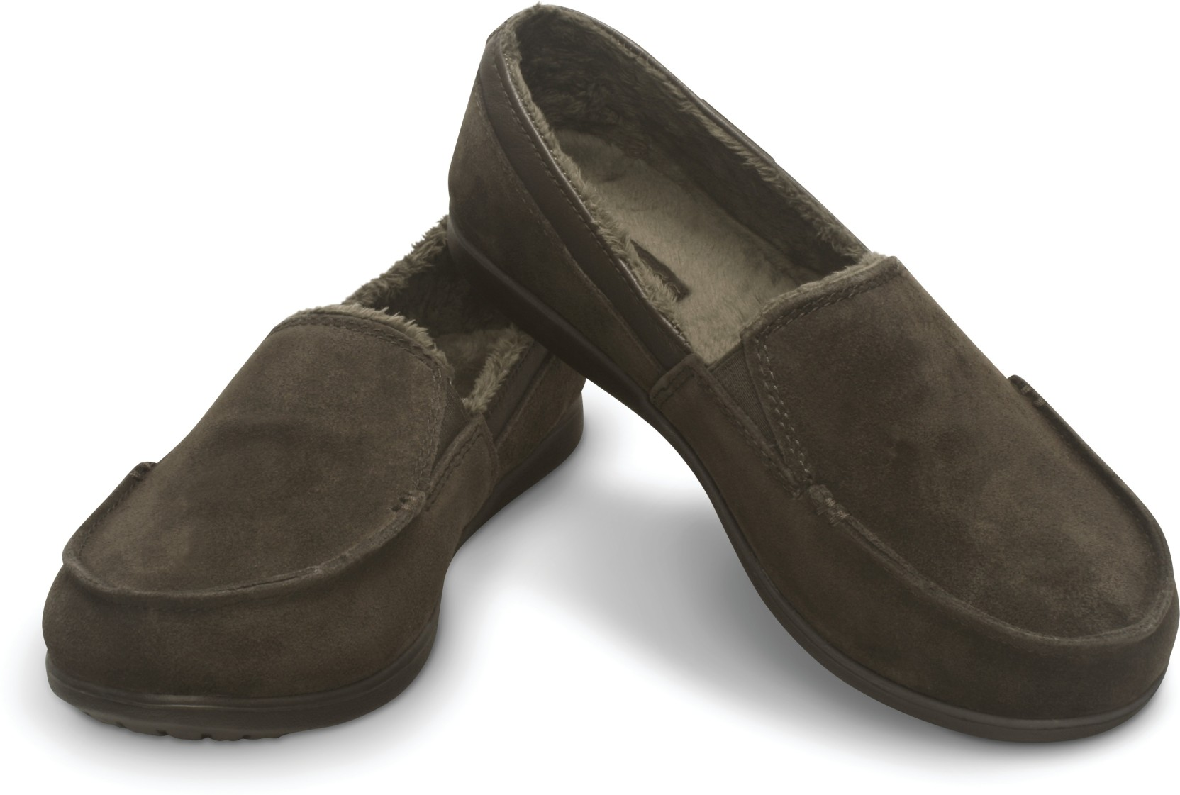 58cddfab8c Crocs Melbourne Suede Loafers For Women - Buy Brown Color Crocs ...