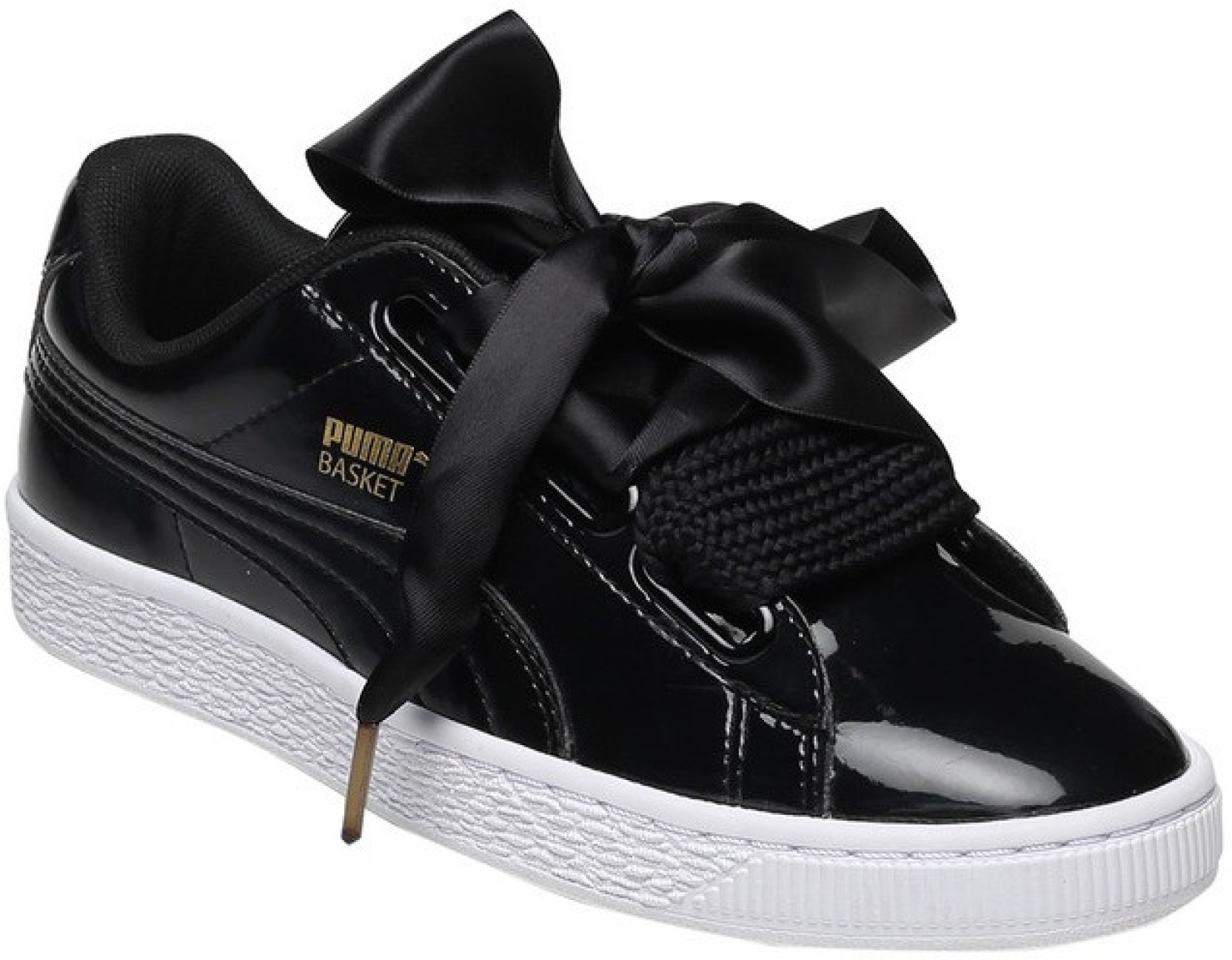 cc2989dda287 Puma Basket Heart Patent Wn s Sneakers For Women - Buy Puma Black ...