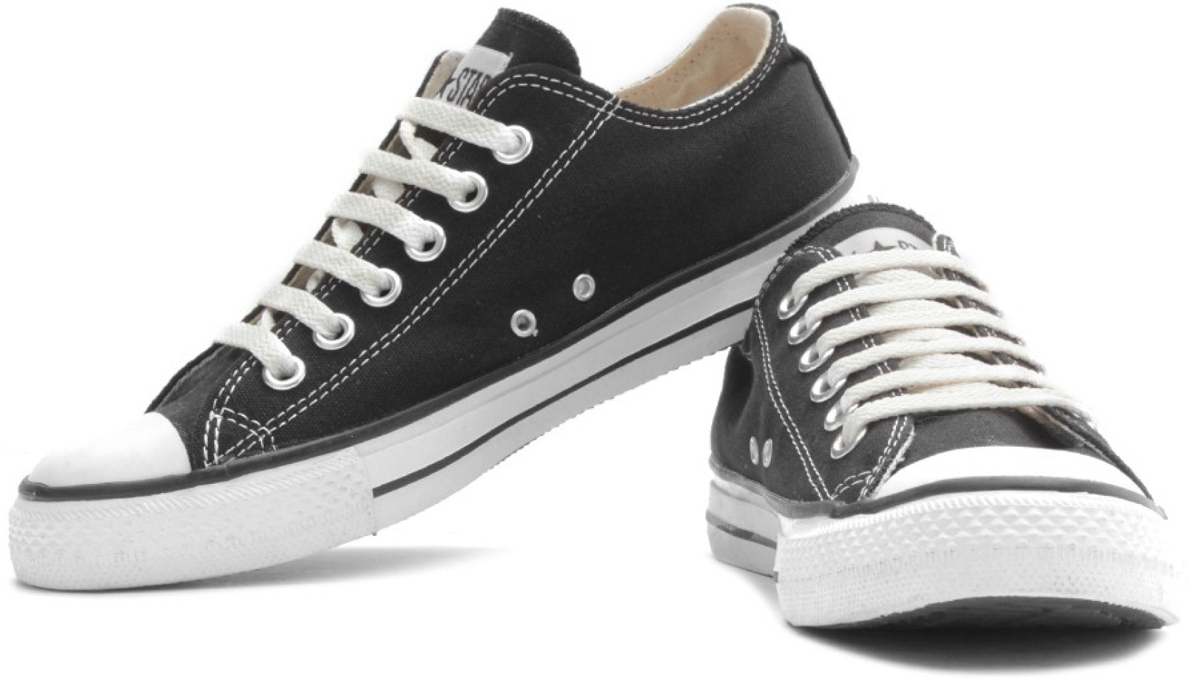 Converse Canvas Shoes - Buy Black Color Converse Canvas ...