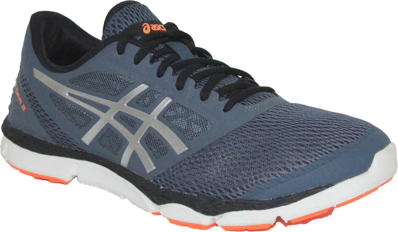 62a7d4df39b16 Asics 33-Dfa 2 Men Running Shoes For Men - Buy Dark Slate, Silver ...