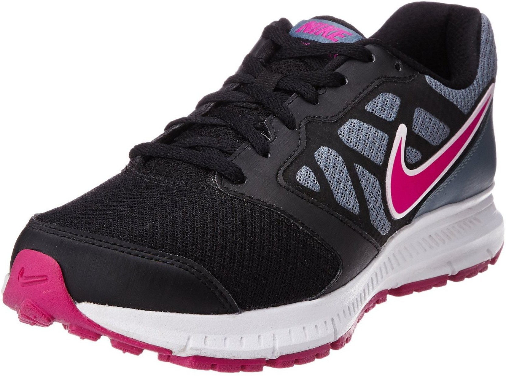 uk availability 55d8f 65a98 Nike DOWNSHIFTER 6 MSL Running Shoes For Women (Blue, Grey, Pink)