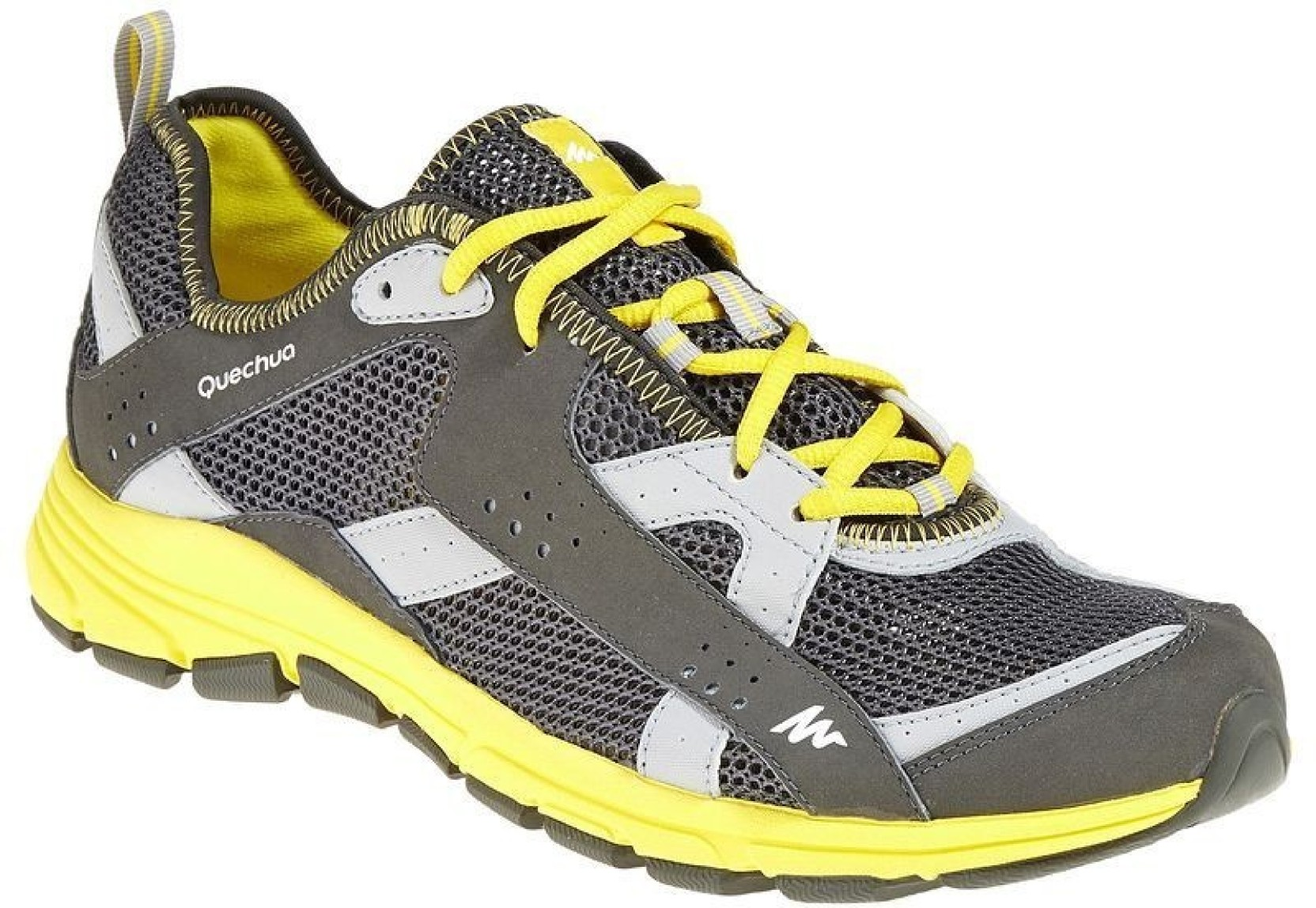 c5a96d58f711 Quechua by Decathlon Arpenaz 200 Fresh Trainers Hiking   Trekking Shoes For  Men (Grey