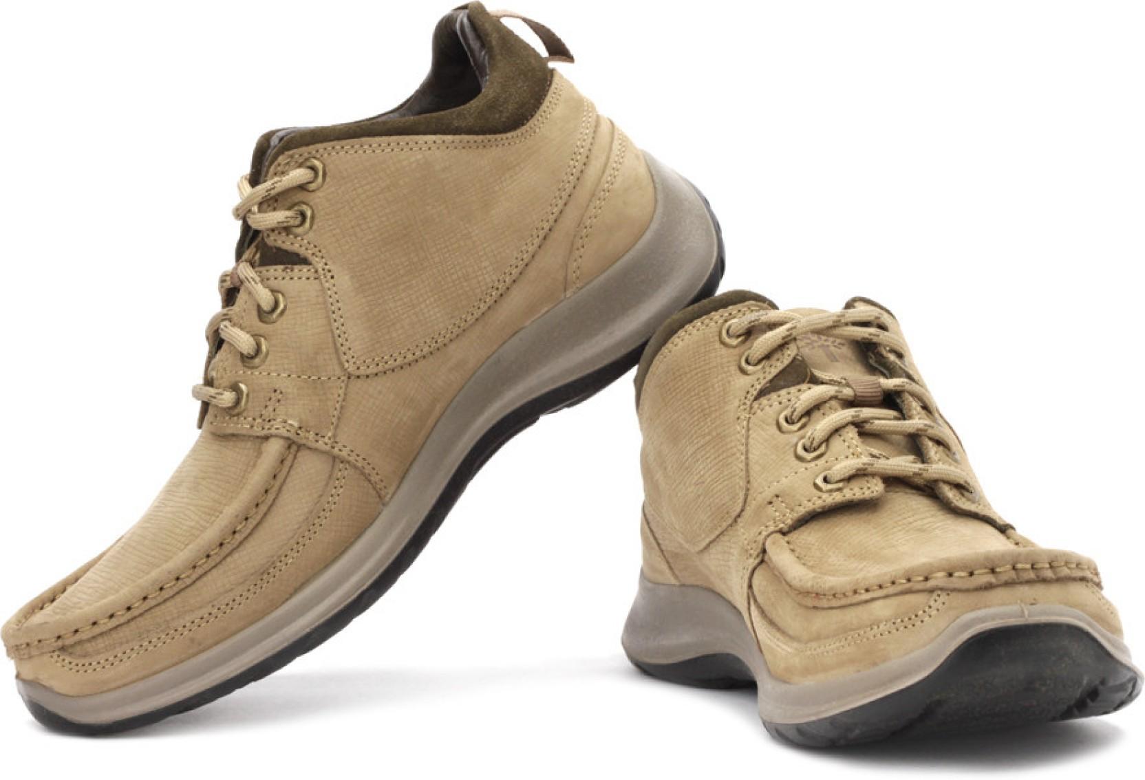 Woodland Corporate Casuals - Buy Khaki Color Woodland ...