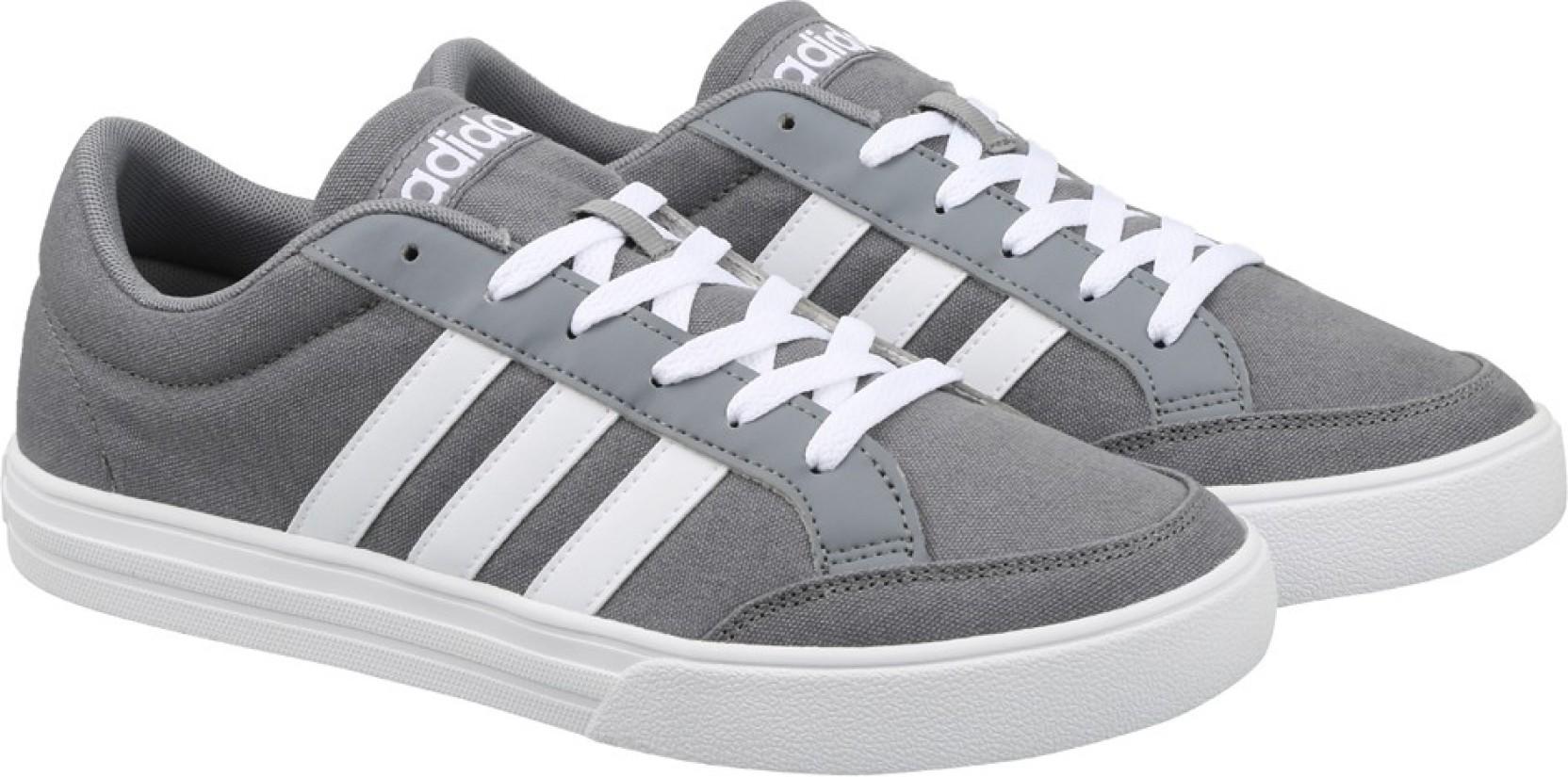 ADIDAS NEO VS SET Sneakers For Men - Buy GREY FTWWHT FTWWHT Color ... 571e52fb55a46