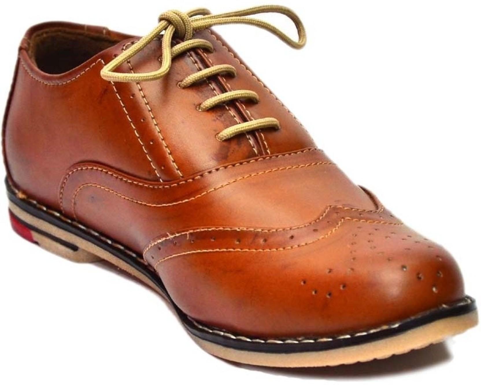 Vogue Guys Brock Shoes Casual Shoes Buy Tan Color Vogue Guys Brock Shoes Casual Shoes Online