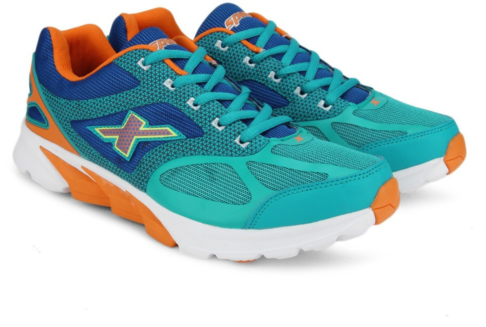 newest collection c683a 28fc3 Sparx Men Running Shoes For Men (Blue, Orange, White)
