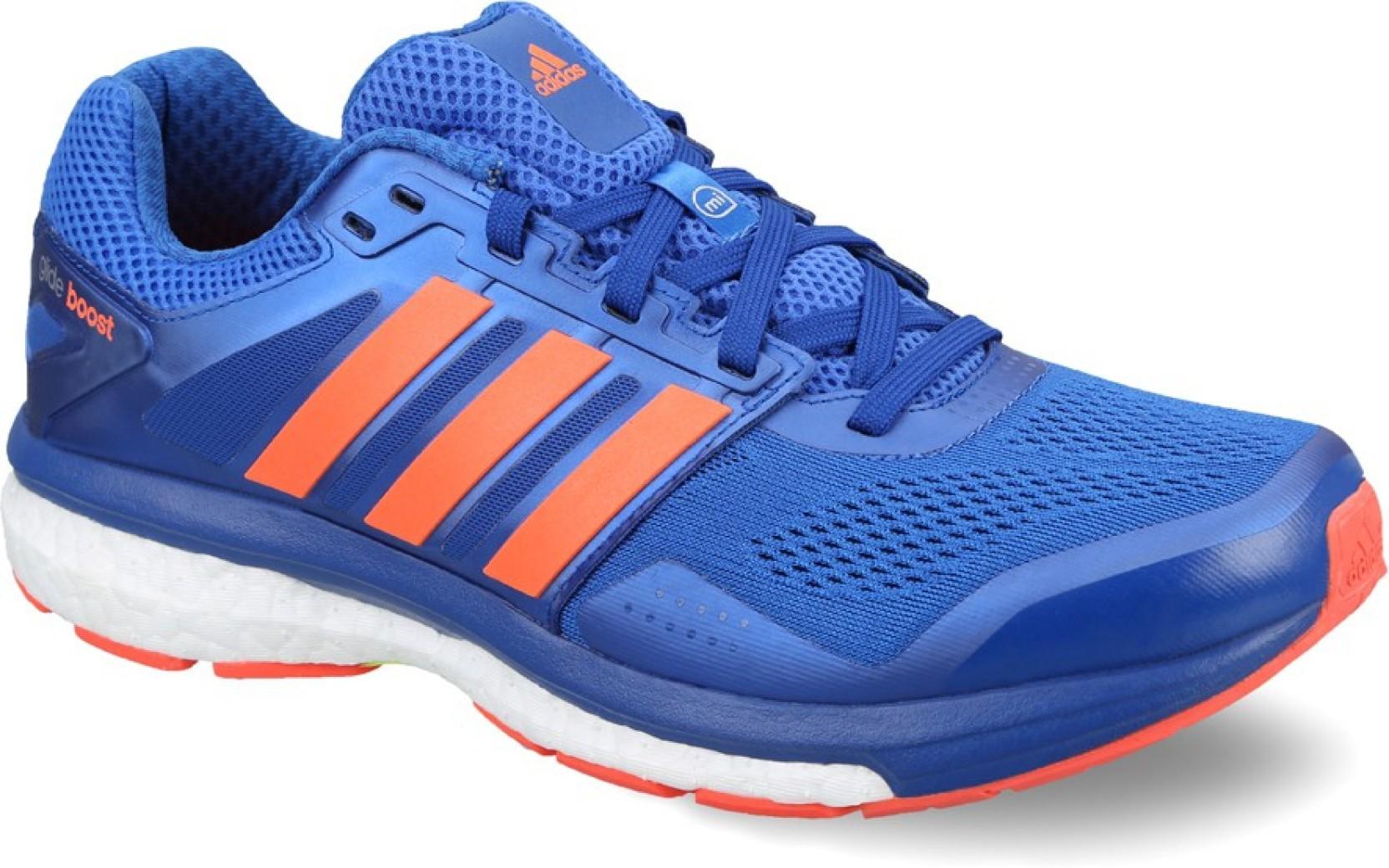7bf0daedb4ec7 ADIDAS Supernova Glide Boost 7 M Running Shoes For Men - Buy Blue ...