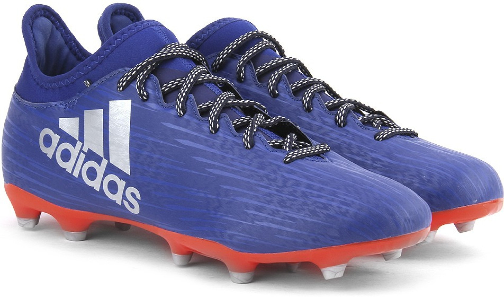 2bf9972c5ee9 ADIDAS X 16.3 FG Football Shoes For Men - Buy CROYAL SILVMT SOLRED ...