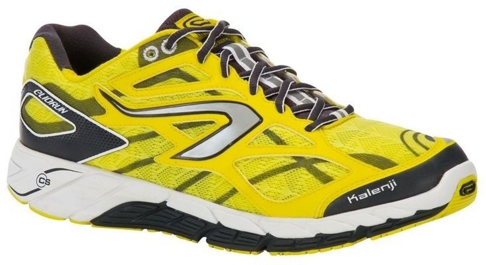 super cute d8d2d e2c2b Kalenji by Decathlon Eliorun Yellow Running Shoes For Men