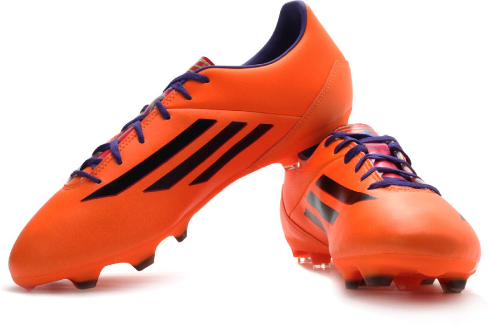 ... amazon c8812 248da Adidas F10 Trx Fg Football Studs For Men Buy Orange  Color Futsal Original ... 8b5f883efe3ff