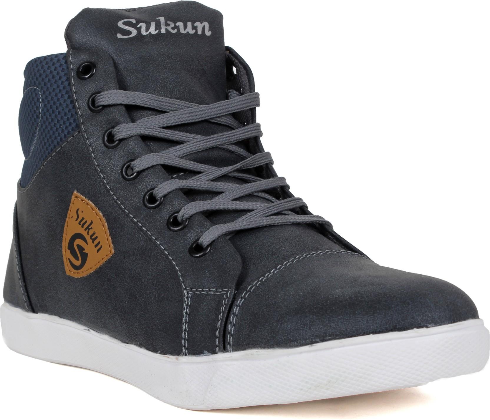 Sukun Casual Shoes For Men - Buy Grey