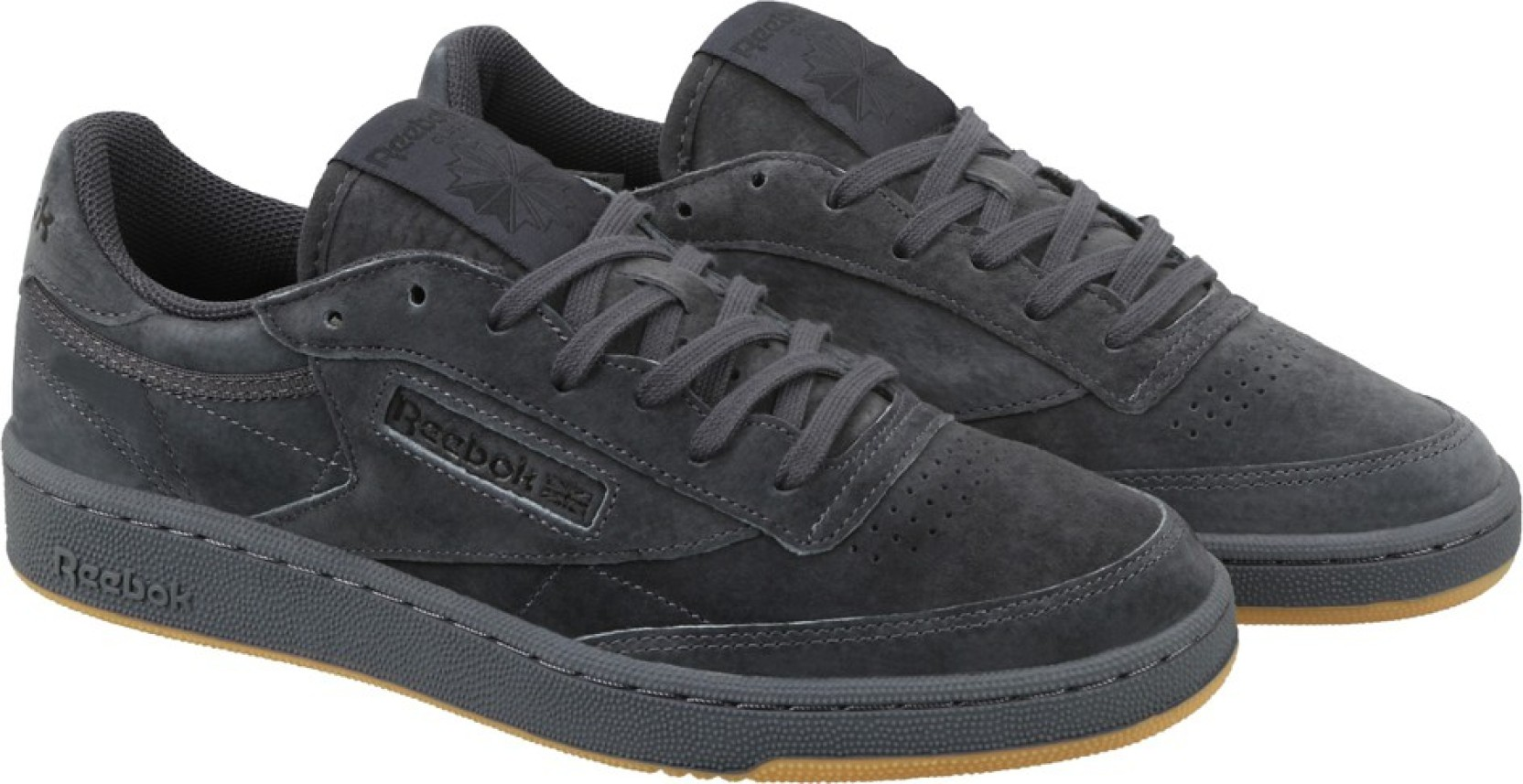 001919dc1d0fe1 REEBOK CLUB C 85 TG Sneakers For Men - Buy LEAD BLACK-GUM Color ...