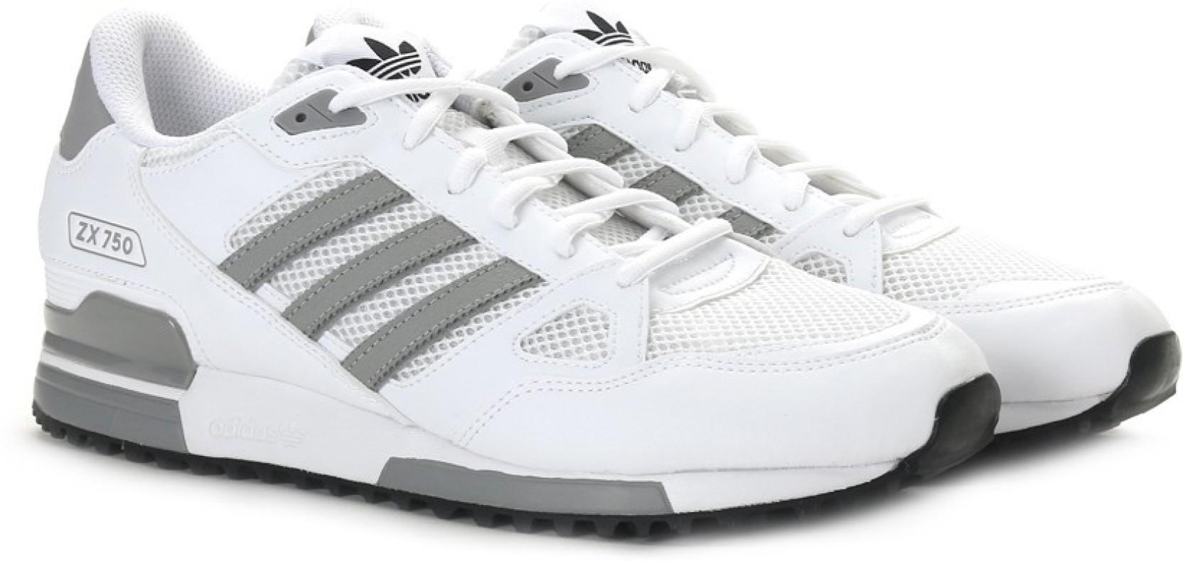 best cheap 7d06c 38dbb ADIDAS ORIGINALS ZX 750 Sneakers For Men (White)