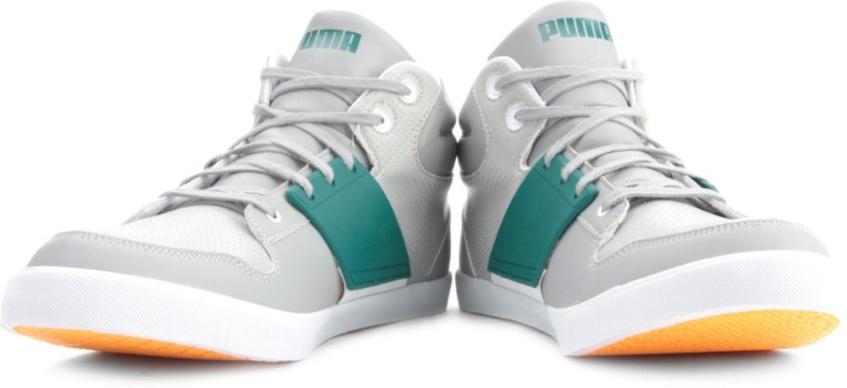 de3ccdf6561108 Puma El Ace 2 Mid PN II DP Sneakers For Men - Buy Limestone Grey ...