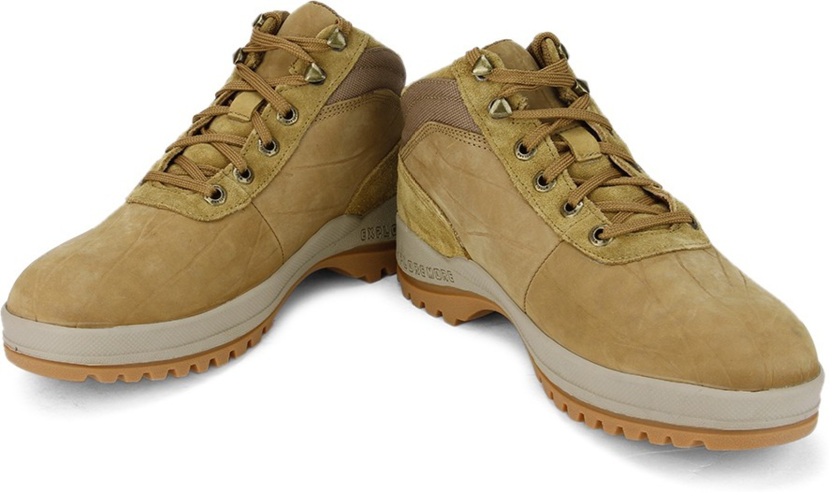 Woodland Men Boots - Buy CAMEL Color Woodland Men Boots ...