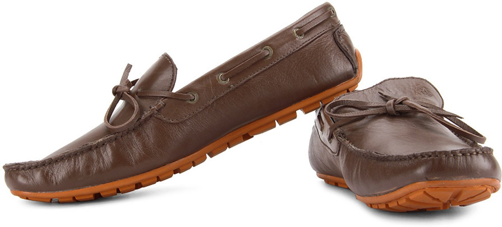 Arrow Denial Loafers - Buy Brown Color Arrow Denial Loafers Online At Best Price - Shop Online ...