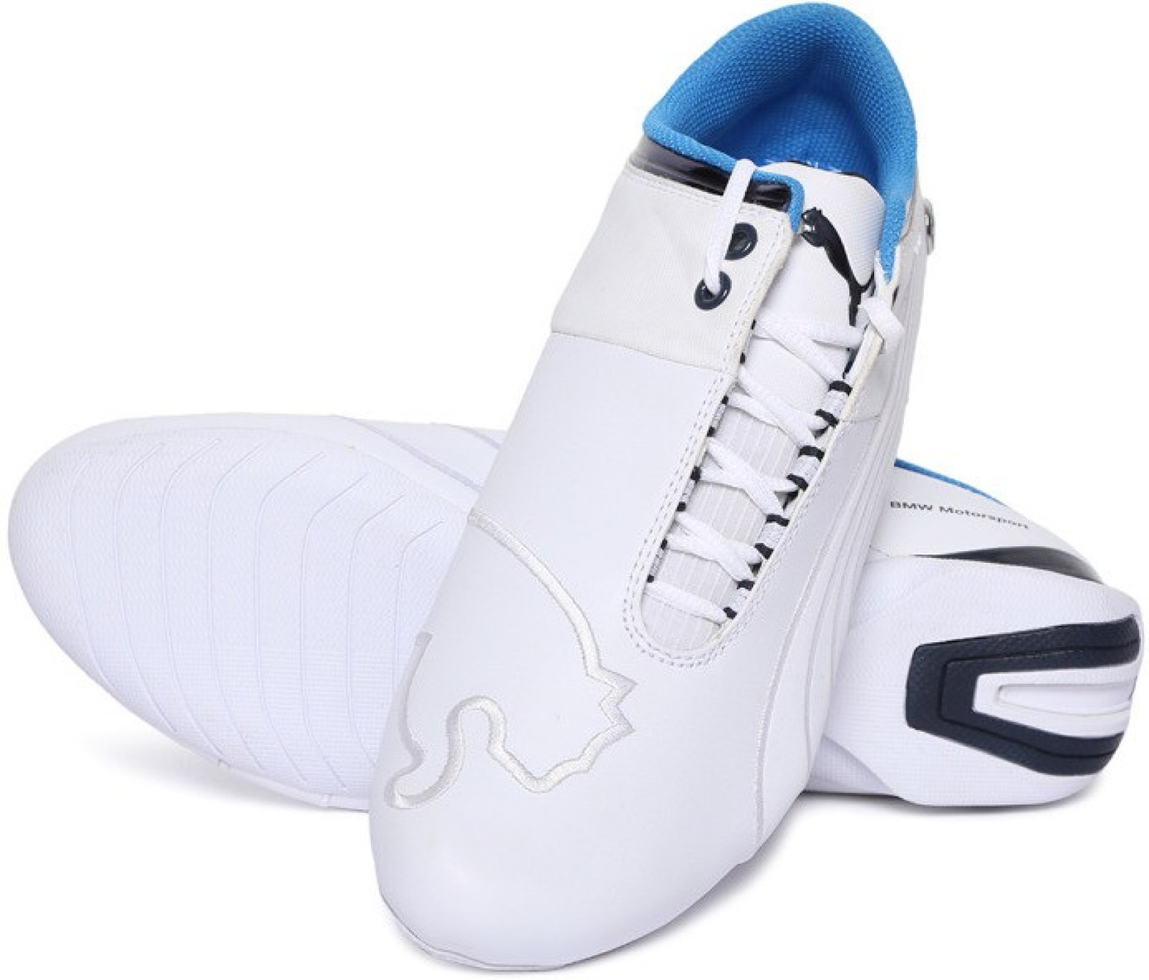 Puma BMW MS Future Cat M1 2 Riding Shoes For Men - Buy White Color ... 030ff5671