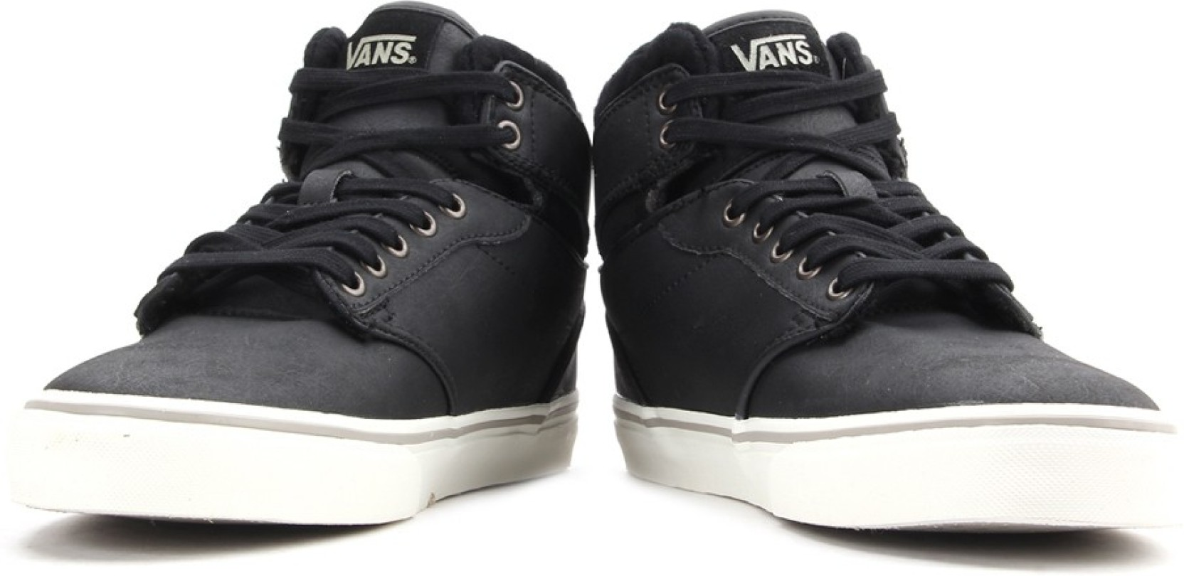 809c8fe443 Vans Atwood Hi Sneakers For Men - Buy (Leather) Black