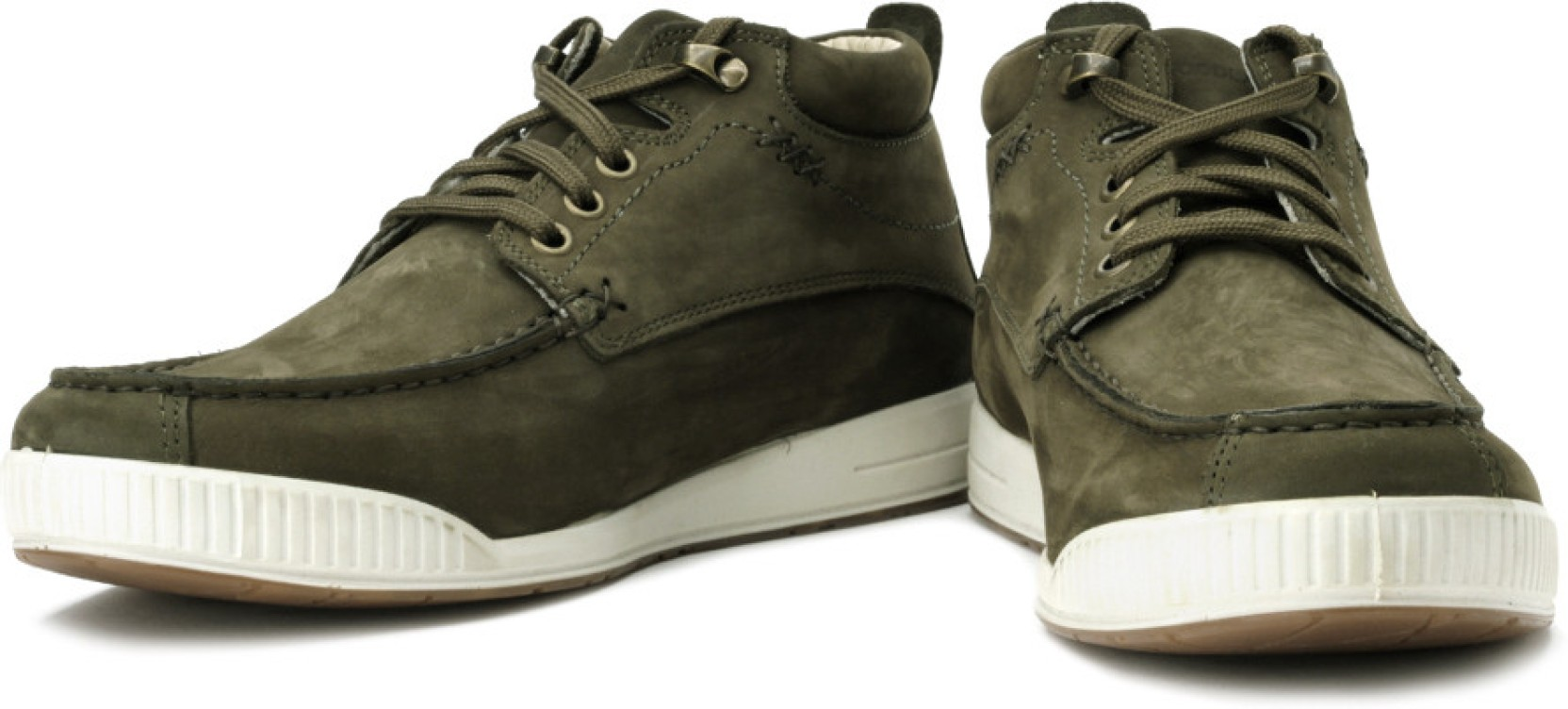 Woodland Boots - Buy Olive Green Color Woodland Boots ...