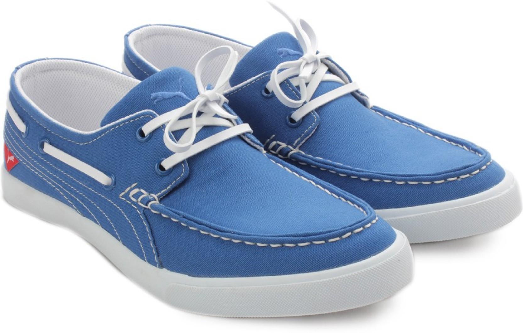Puma Yacht CVS IDP Boat Shoes For Men - Buy Imperial Purple Color ...