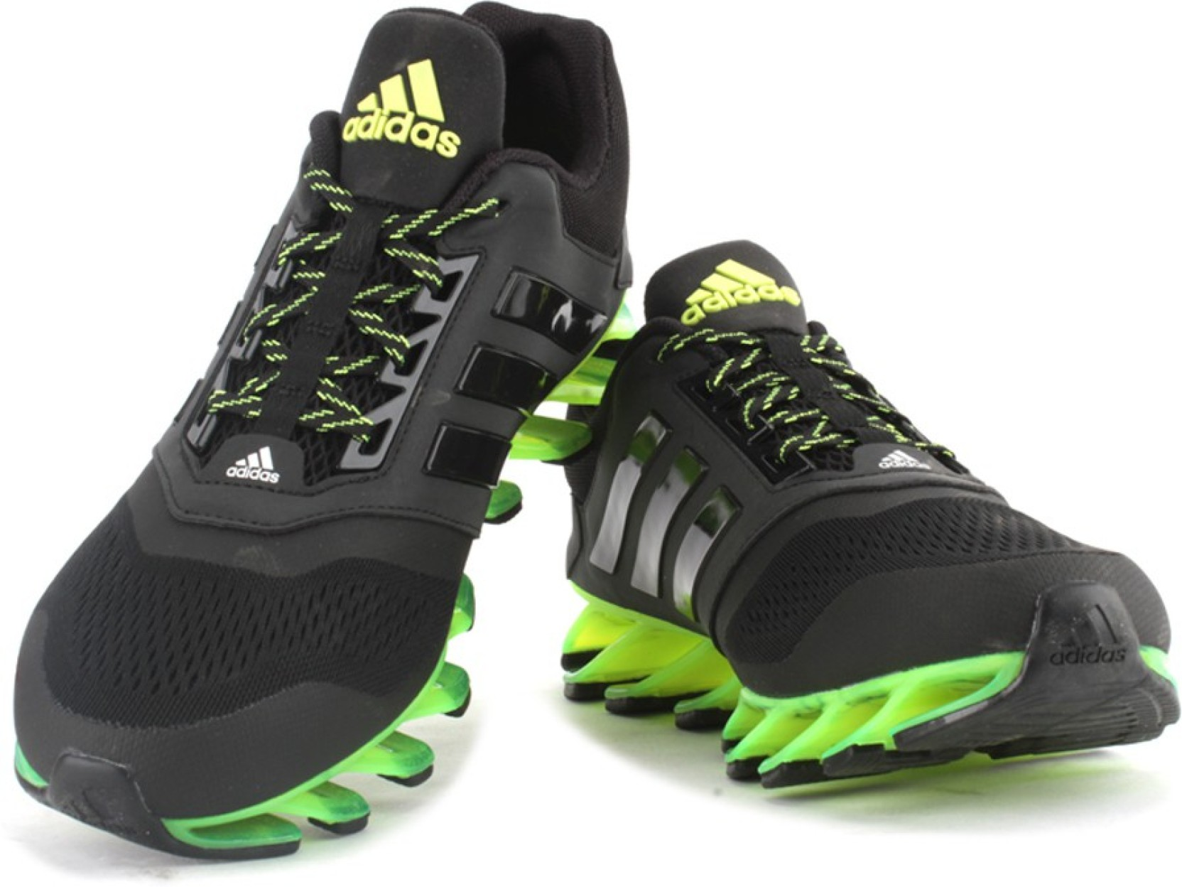 newest 0941b fcfa2 ADIDAS SPRINGBLADE DRIVE 2 M Men Running Shoes For Men (Black, Green)