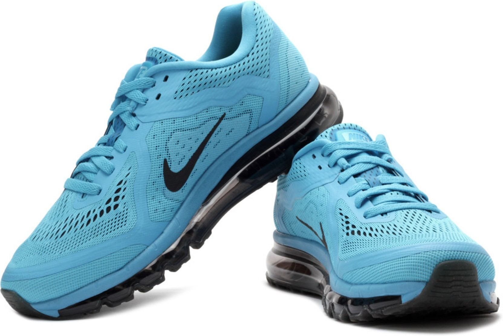 Nike Air Max 2014 Running Shoes - Buy Blue, Black Color ...