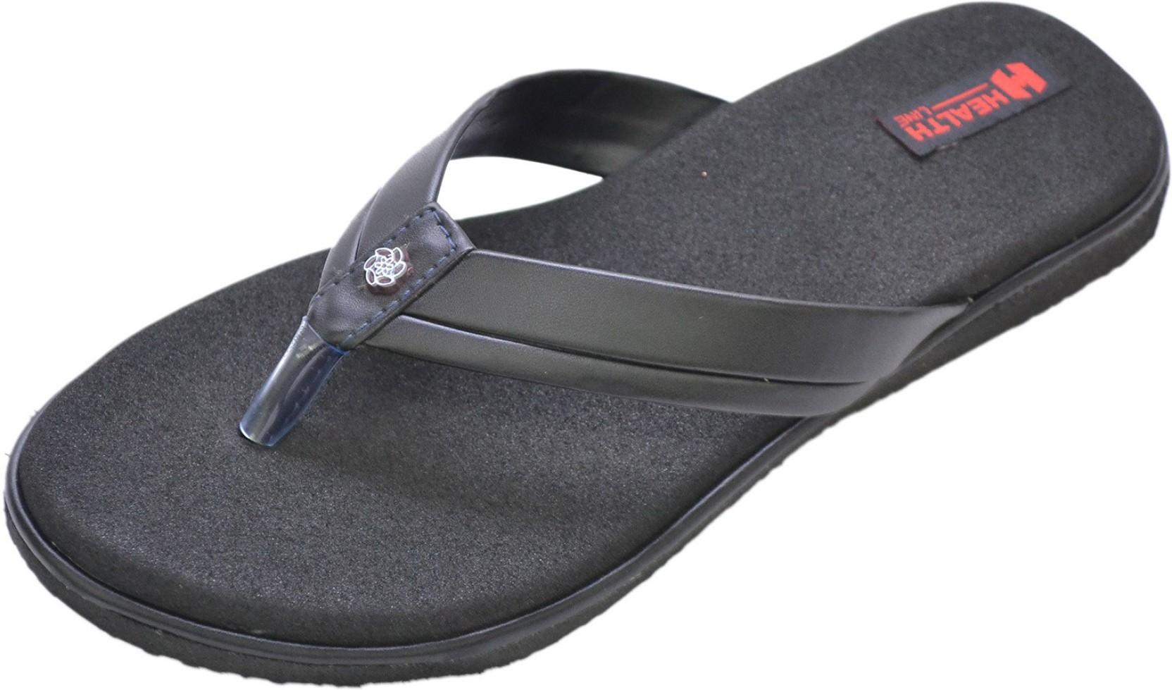 c3cd67cc6e Healthline Mcp Slippers - Buy Black Color Healthline Mcp Slippers ...