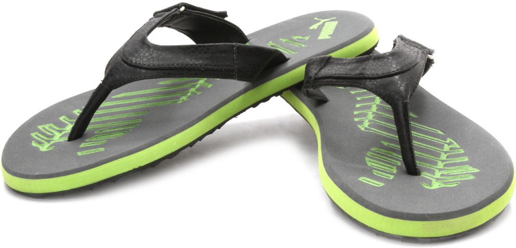 puma breeze 4 ind flip flops buy steel gray macaw green color puma breeze 4 ind flip flops. Black Bedroom Furniture Sets. Home Design Ideas
