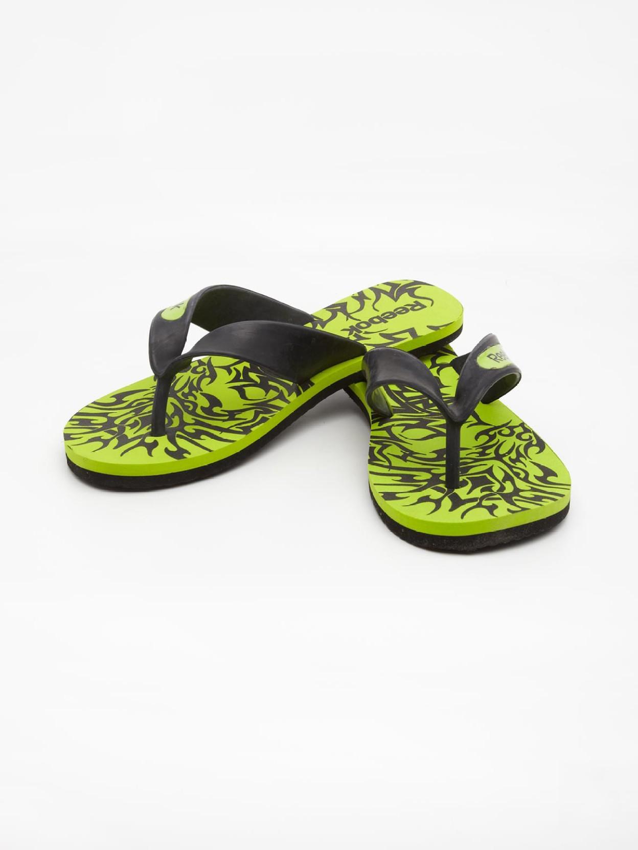 27536e0e80715a REEBOK Core Thong Flip Flops - Buy Lemon Color REEBOK Core Thong ...