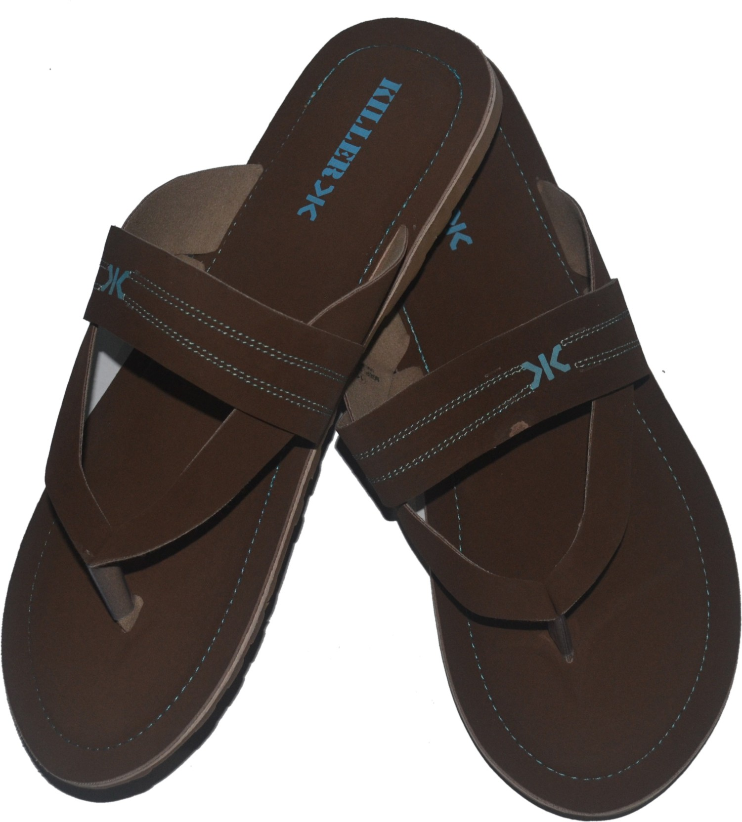 636f5fc409a69 Killer Flip Flops - Buy KLFPIL-2001 Dark Brown Color Killer Flip ...