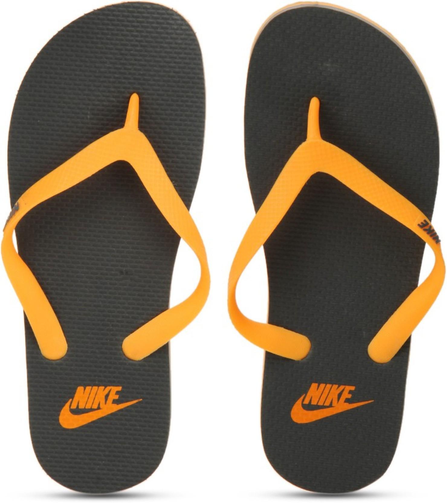 4afa828de78 Nike AQUASWIFT THONG Slippers - Buy Laser Orange Dark Grey Color ...