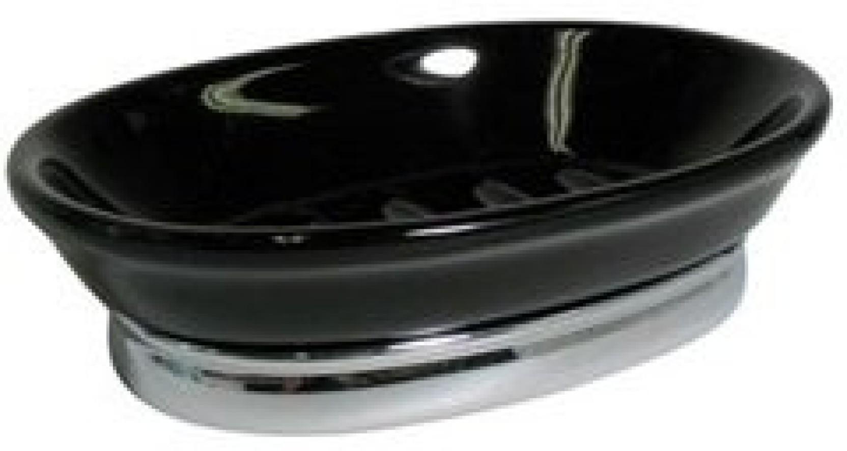 Interdesign york soap dish oval chrome price in india for Interdesign york