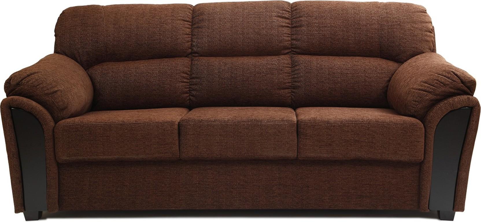 Hometown Ohio Br Fabric 3 Seater Sofa Price In India