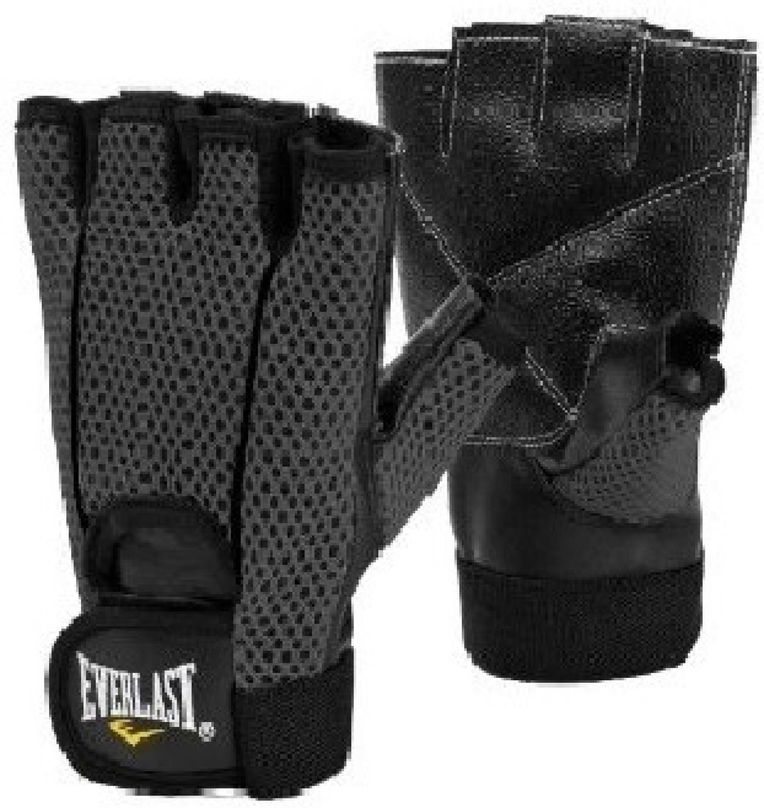 Everlast Fitness Gloves Mens: Everlast Ross Weightlifting Gym & Fitness Gloves (L, Black