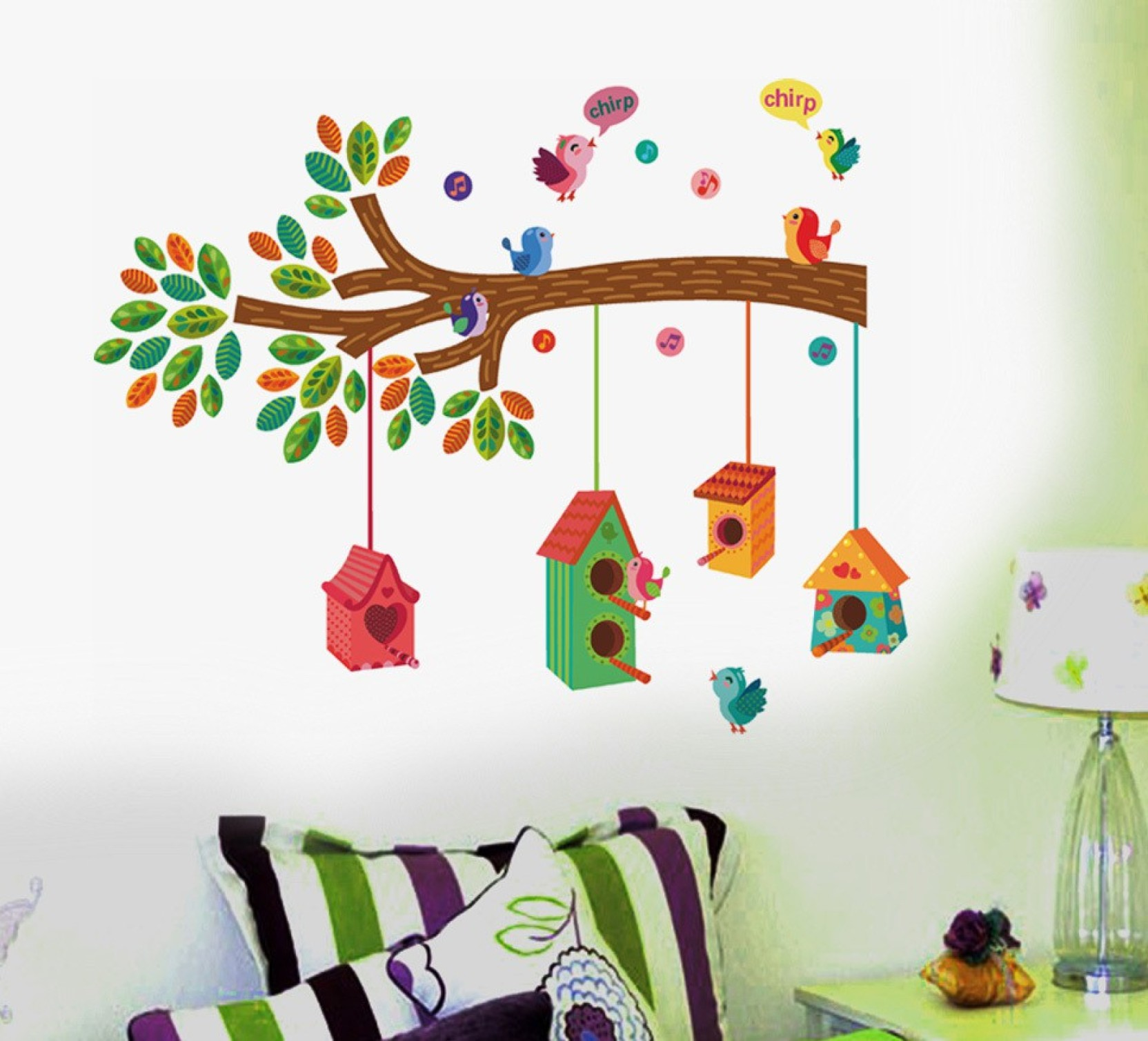 Happy Walls Extra Large Pvc Vinyl Sticker Price In India Buy Circuit Board Tree Wall Art Graphic Stickers Decals On Offer