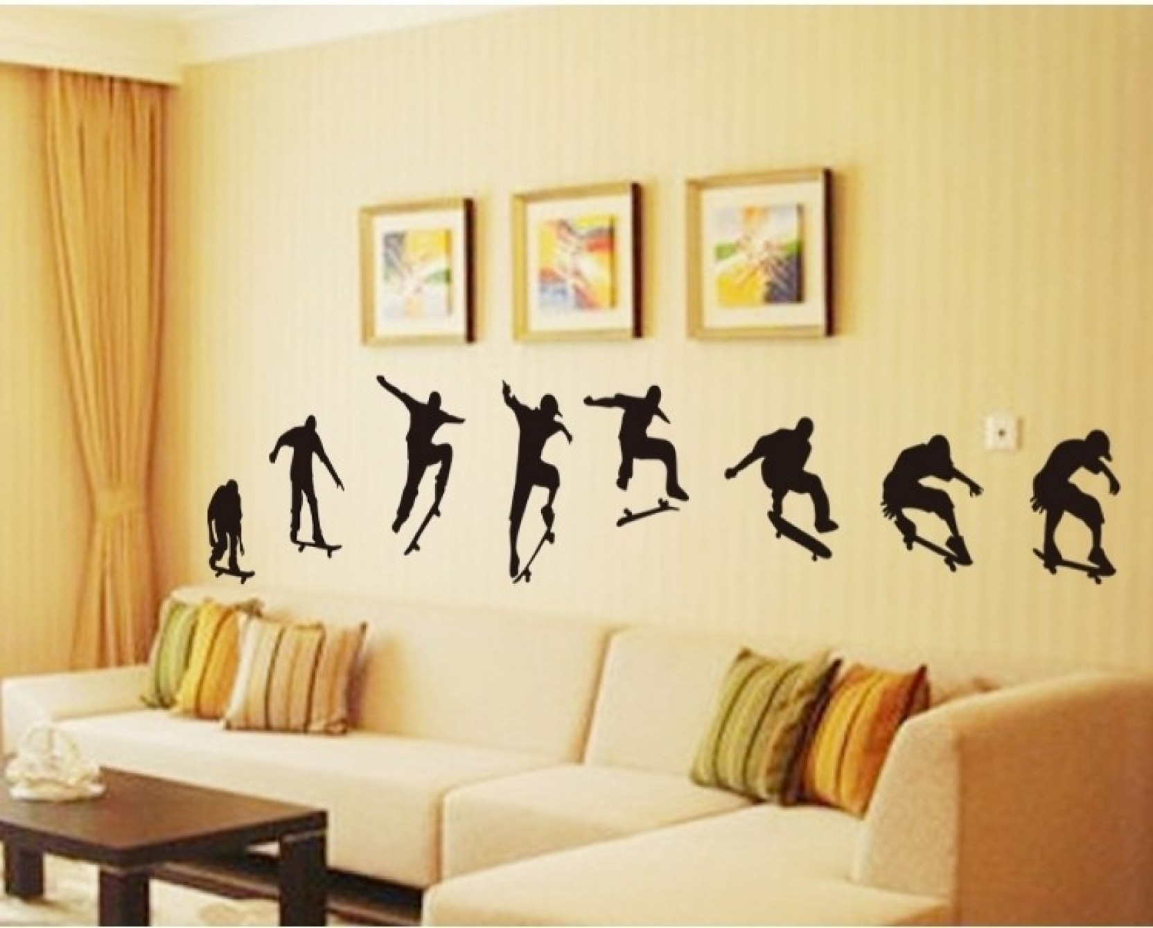 WoW Wall Stickers PVC Removable Sticker Price in India - Buy WoW ...